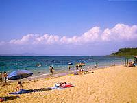 伊計島の大泊ビーチ - 観光化されています