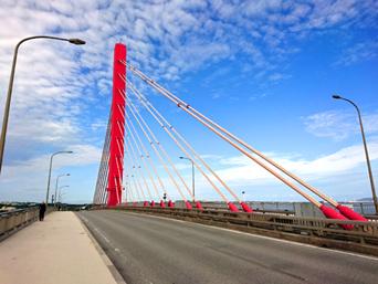 海中道路大橋