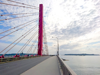 海中道路の平安座海中大橋/海中道路大橋 - ジョギングの名所