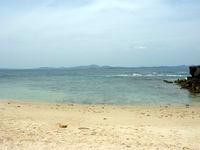 伊計島の伊計ビーチ - ビーチはこんな感じ
