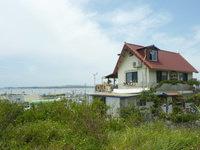 平安座島のいっぷく屋 - 高台なので景色は抜群かも?
