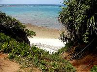 池間ロープ/カギンミビーチ/カギンミヒダ(宮古列島/池間島のビーチ/砂浜)