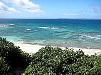 池間島のアイランドテラス ニーラ/カフェ&レストラン ニーラ/Neela - ニーラから見える海です