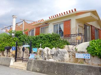 池間島のカフェ タソス「建物はお洒落で好印象」