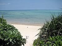 池間島のウハマ(池間大橋北のビーチ)