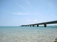 池間島のウハマ - 下から見上げる池間大橋も良いかも?