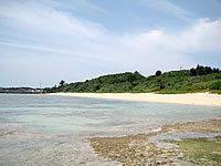 池間島のトゥイヤー(池間大橋南のビーチ)