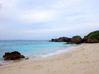 池間島のハート岩/伊良干瀬 - ビーチはコンパクトサイズ