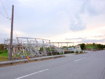 池間島のフナクスキャンプ場/駐車場