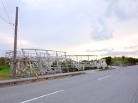 池間島のフナクスキャンプ場(廃墟化し閉鎖・駐車場のみ存続)