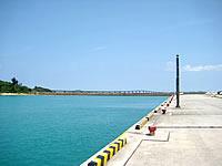 池間島の池間港