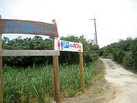 池間島のOHAMAテラス - 周回道路からの入口