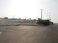 伊良部島の渡口の浜 西 - 広い駐車場が整備されました