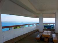 伊良部島の牧山展望台の写真