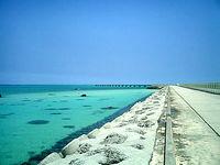 下地島空港17エンドビーチ/海の色