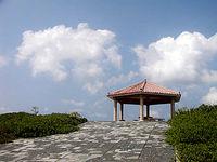 白鳥崎の展望台