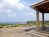 伊良部島の白鳥崎の展望台 - 景色はかなりいい感じです