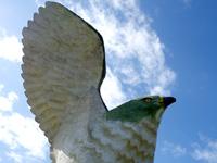 伊良部島のフナウサギバナタ展望台 - ちょっと怖いぐらいリアル