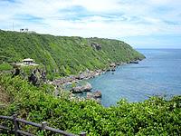 伊良部島のサバ沖展望台 - サバ沖井戸の吾妻屋からはちょっと離れている