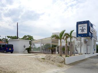 伊良部島のブルータートル(旧 渡口の浜食堂)「もはや原型を残していません(笑)」