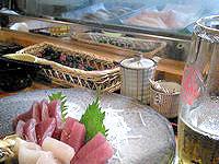 伊良部島の寿しけん - 刺身の盛り合わせも美味しい