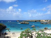 下地島の中の島/中ノ島/カヤッファビーチ - 深さもあってダイバーも多い