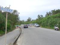 下地島の中の島/中ノ島/カヤッファビーチ - 空港側の空き地が駐車場扱いに?