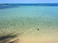 伊良部島の佐和田の浜 集落側 - 遠浅だけど眺めるなら十分!