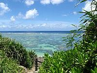 伊良部島のシンビジ/シンビシ - 沖の海はとてもキレイです