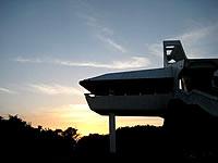 牧山展望台からの朝日
