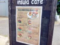 伊良部島のインスラ・カフェ/insula cafe - 最近はバーガーを始めたらしい