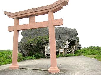 帯岩/下地島巨岩