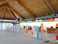 下地島のみやこ下地島空港ターミナル - 新ターミナルは新設