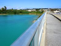 伊良部島の乗瀬橋/伊良部橋 - 伊良部橋からの景色