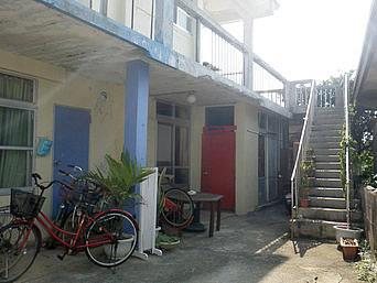 伊良部島のレンタル カサ・デ・アマカ「ゲストハウスがやっているレンタル」