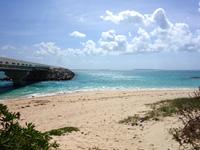 伊良部島の長山浜/長山の浜 - 伊良部大橋南側のビーチ