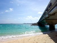 伊良部島の長山浜/長山の浜 - 伊良部大橋北側のビーチ