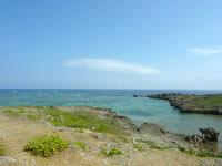 伊良部島の白鳥崎 - 海の色はなかなかのものです