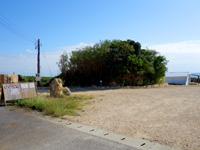 伊良部島のカフェ&ヤド コモ/cafe como - 建物は道路からかなり奥まったところにある