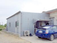 伊良部島の杏心のドーナツ屋さん/アコドーナツ - お店の入口は建物の裏にあります