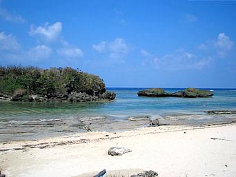西表島の星砂の浜