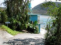 西表島の浦内川観光/浦内川河口/船着き場の写真