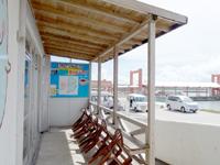 西表島のレストランじゅごん - テラス席はカフェがないので無用の長物?