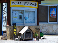 西表島のひとみ食堂/ハナイチデアマール - ひとみ食堂と呼ばれるが看板は・・・