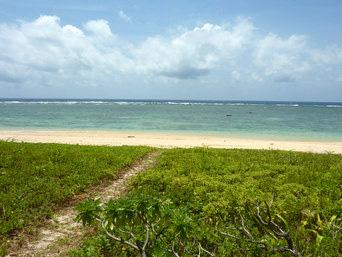 みみきりの浜/宇那利崎のビーチ