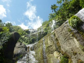 ユツンの滝/ユチンの滝/三段の滝