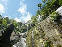 西表島のユツンの滝/ユチンの滝/三段の滝