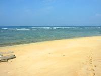 西表島のうなり崎のビーチ