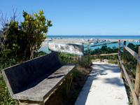 西表島のでんさえ碑/舞台/休憩所 - 穴場ですが居心地良し
