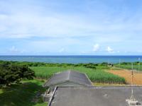 西表島の開拓の里/展望台 - 南側・海側の景色